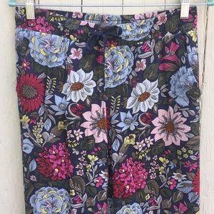 Loft floral flowy pants
